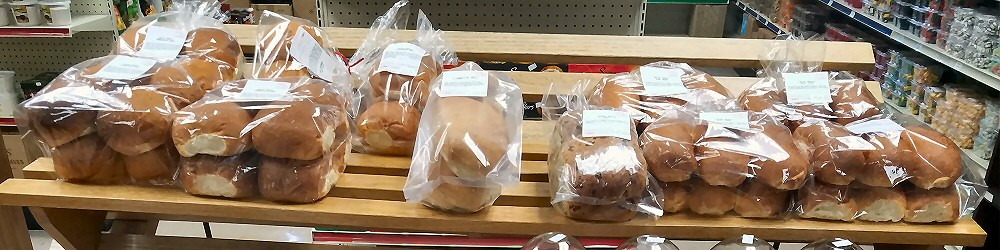Bakery products at Bessey's Meat Market