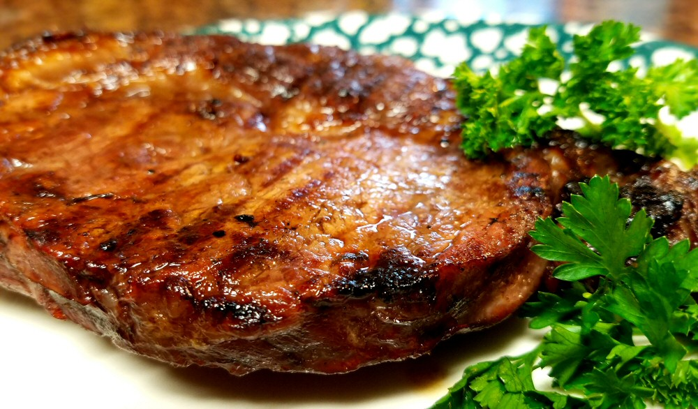 A mouth-watering steak, just one of many options for fresh beef products at Bessey's