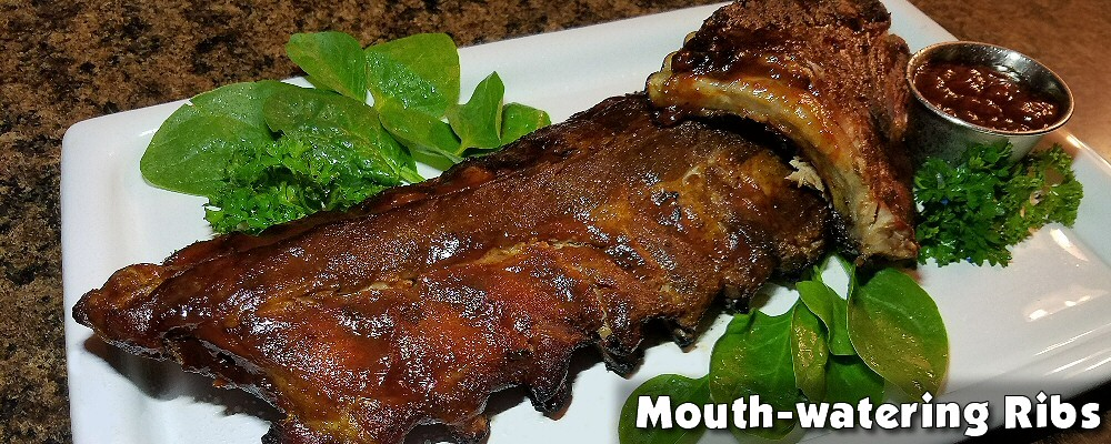 Mouth-watering ribs
